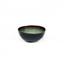 Serax Terres de Rêves bowl 10,8 cm mistgrijs / donkerblauw