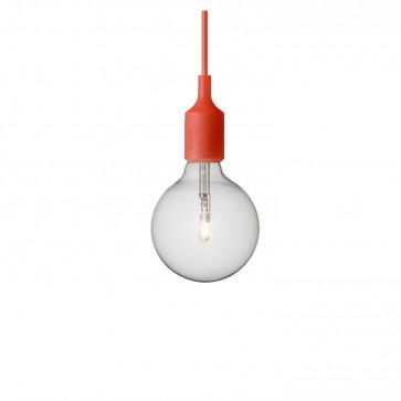 Muuto E27-lamp rood