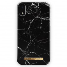 iDeal of Sweden Case iPhone XR black marble