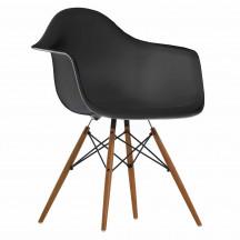 Vitra Eames Plastic Chair DAW basalt