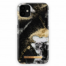 iDeal of Sweden Case iPhone 11 black galaxy marble
