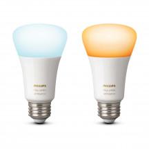 Philips Hue White Ambiance E27-lampen duopak