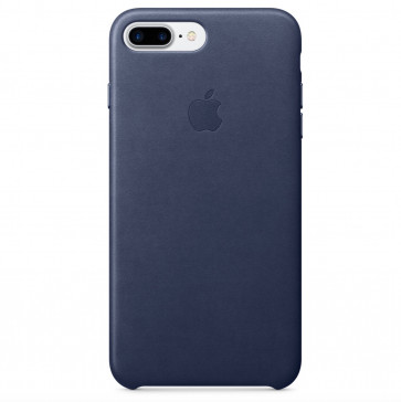 Apple iPhone 8 Plus/7 Plus leren hoesje middernachtblauw