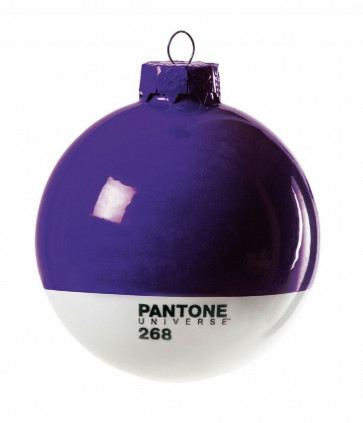 Pantone Universe kerstbal paars