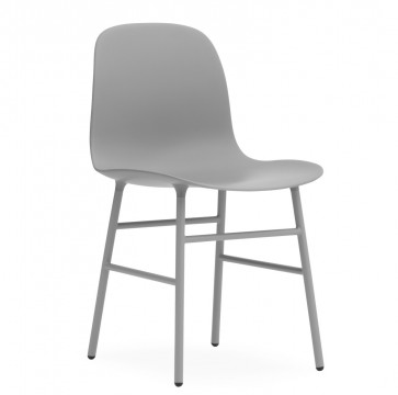 Normann Copenhagen Form Chair gelakt staal