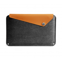 Mujjo Sleeve 11-inch MacBook Air grijs/bruin