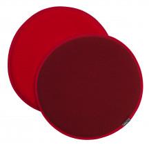 Vitra Seat Dot rood/kokosnoot - poppyrood