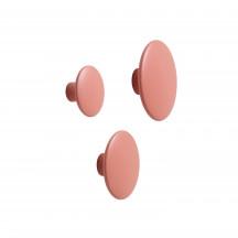 Muuto Dots kledinghaken dusty pink