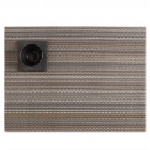 Chilewich placemat multi stripe harvest