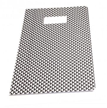 Bakker A4 schrift zwart/wit