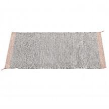 Muuto Ply tapijt zwart/wit