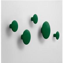 Muuto Dots kledinghaken groen