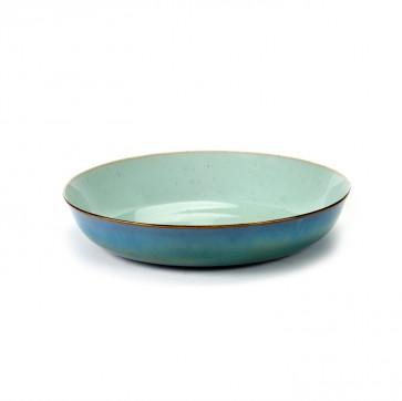 Serax Terres de Rêves schaal 21 cm lichtblauw / smokey blue