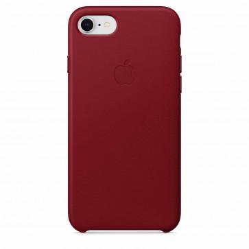 Apple iPhone 8/7 leren hoesje PRODUCT(RED)