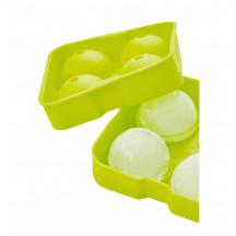 Point-Virgule silicone vorm voor 4 ijsballen