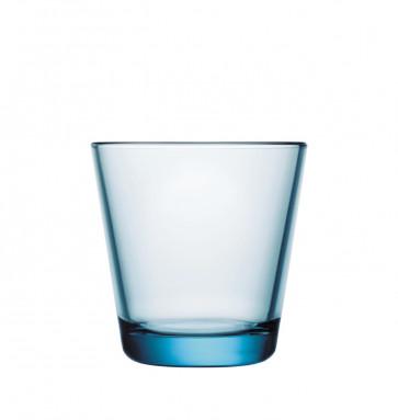 iittala Kartio glas lichtblauw