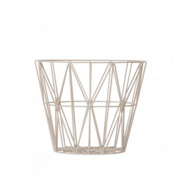 Ferm Living Wire Basket medium grijs