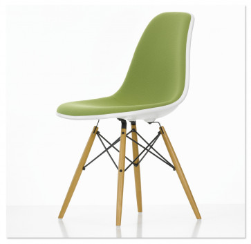 Vitra Eames Plastic Side Chair DSW bekleed