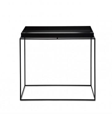 Hay Tray Table rechthoekig zwart