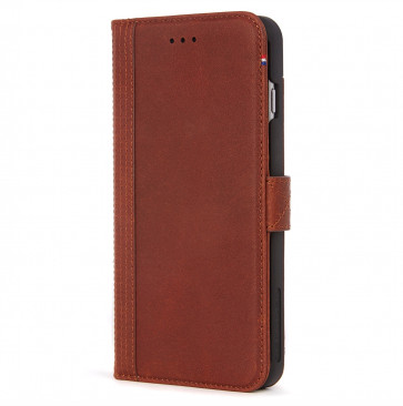 Decoded Wallet Case iPhone 8 Plus/7 Plus/6(s) Plus bruin
