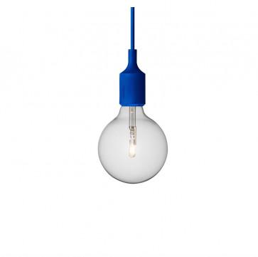 Muuto E27-lamp blauw