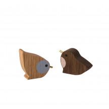 Ferm Living Winterland Birds (set van 2 stuks)