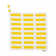 Artek Siena pannenlap wit/geel