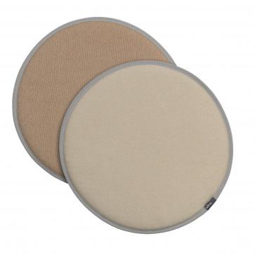 Vitra Seat Dot perkament/crème - tabbak/crème