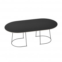 Muuto Airy Coffee Table large zwart