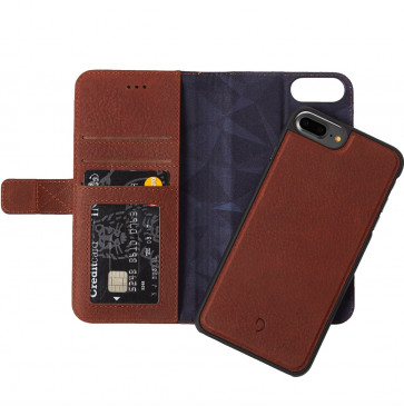 Decoded 2-in-1 Wallet Case iPhone 8 Plus/7 Plus/6(s) Plus bruin
