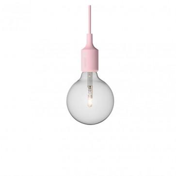 Muuto E27-lamp roze