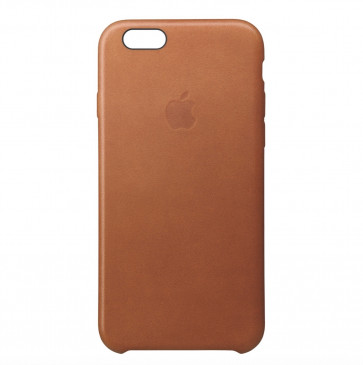 Apple iPhone 6s leather case zadelbruin