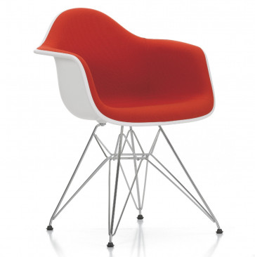Vitra Eames Plastic Chair DAR bekleed