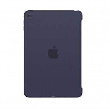 Apple iPad mini 4 silicone case middernachtblauw