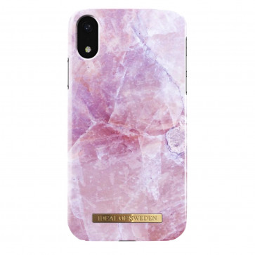 iDeal of Sweden Case iPhone XR pillion pink marble