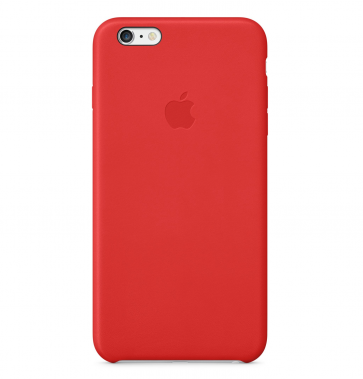Apple iPhone 6 Plus Leather Case rood