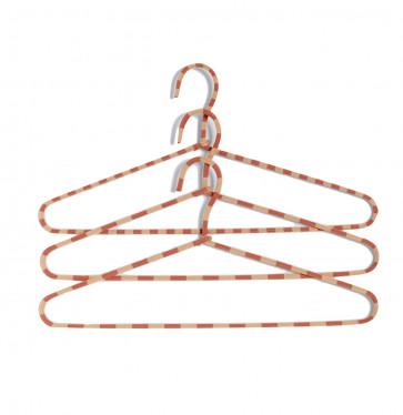 Hay Cord Hanger Stripe Powder