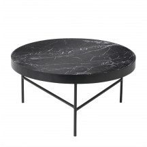 Ferm Living Marble Table large zwart