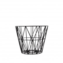 Ferm Living Wire Basket small zwart