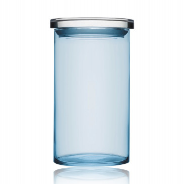 Iittala Jars bewaarglazen lichtblauw