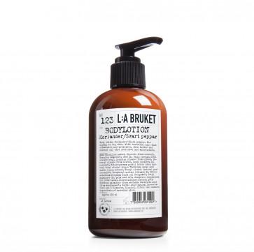 L:A Bruket 123 bodylotion koriander/zwarte peper