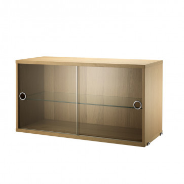 String display cabinet eik