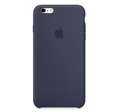 Apple iPhone 6s Plus silicone case middernachtblauw