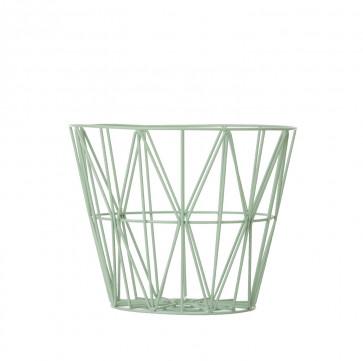 Ferm Living Wire Basket medium munt