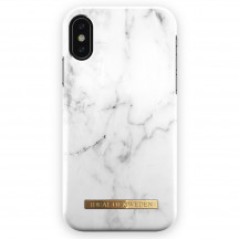 iDeal of Sweden Case iPhone XS Max white marble