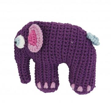 Sebra rammelaar olifant