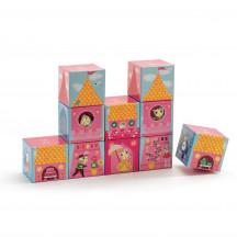 Djeco blokkenpuzzel prinsessenkasteel
