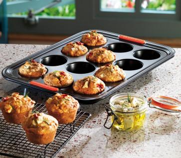 Le Creuset Pâtiliss bakvorm voor 12 muffins