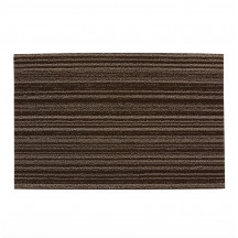 Chilewich deurmat Purl Stripe brown