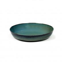 Serax Terres de Rêves schaal 21 cm blauwgrijs / donkerblauw